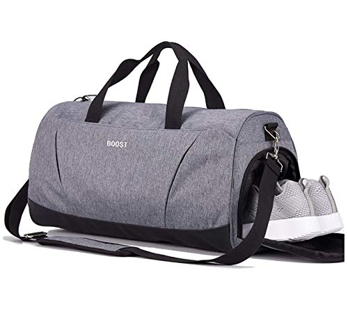 Sports Gym Bag with Wet Pocket & Shoes...