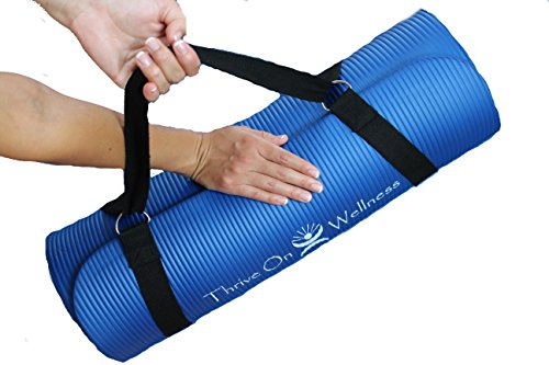 Thrive On Wellness Premium Exercise Mat Strap