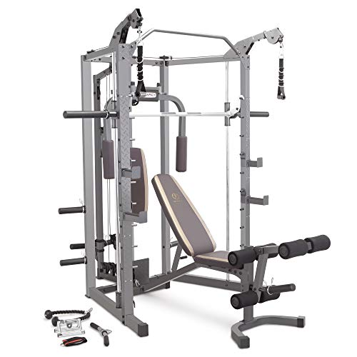 Marcy Smith Cage Machine with Workout Bench...