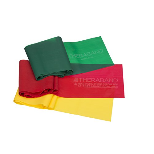 TheraBand Resistance Bands Set, Professional...