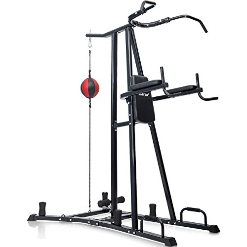 Merax Boxing Power Tower Combo Home Fitness...