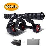 KANSOON Ab Roller Wheel Exercise Equipment -...
