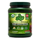 Organic Muscle Plant-Based Protein Powder |...