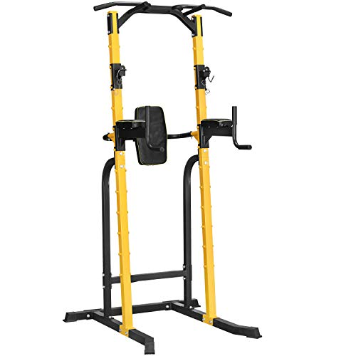 HI-MAT Adjustable Power Tower Workout Dip...
