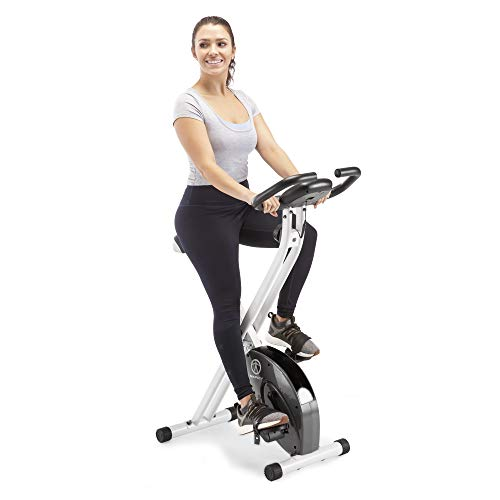 Marcy Foldable Exercise Bike with Adjustable...