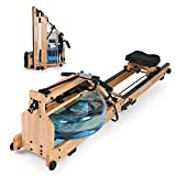 Koreyosh Foldable Water Rowing Machine Indoor...
