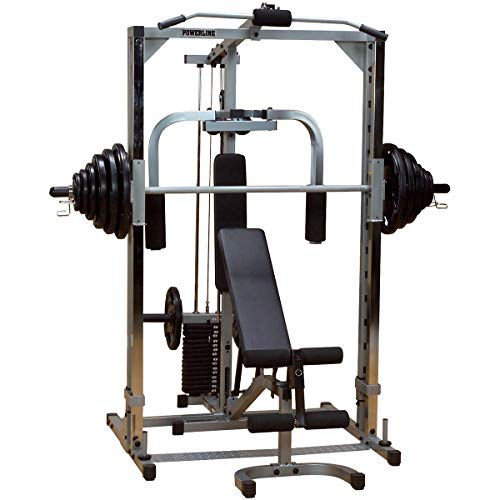 Body-Solid Powerline Smith Machine Package...