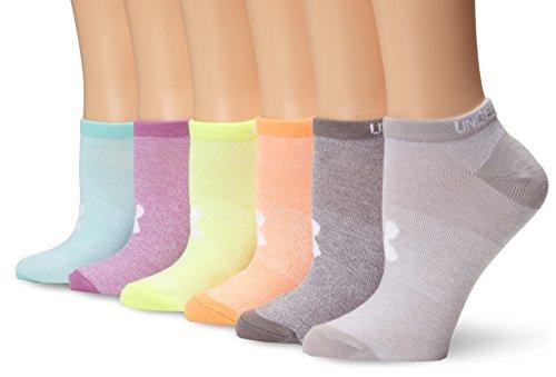 Under Armour Women's Essential No Show Socks,...