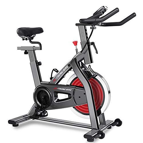 Merax Indoor Exercise Bike - Stationary Home...