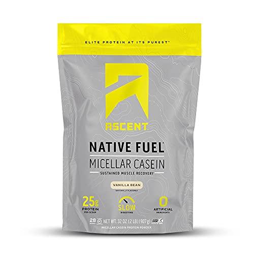 Ascent Native Fuel Micellar Casein Protein...
