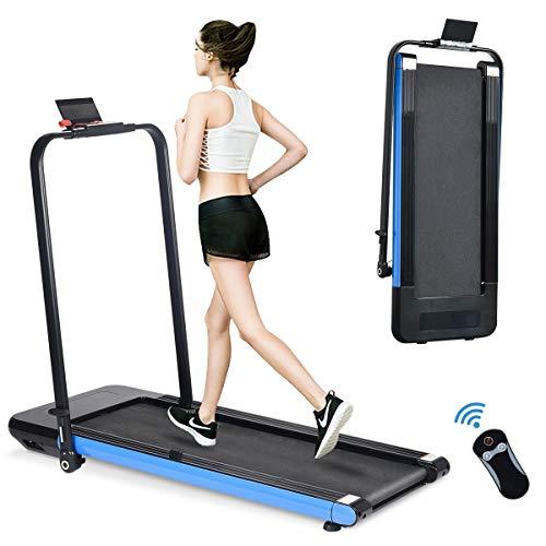 BiFanuo 2 in 1 Folding Treadmill, Smart...