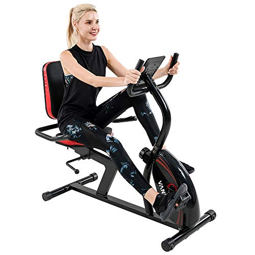Vanswe Recumbent Exercise Bike 16 Levels...