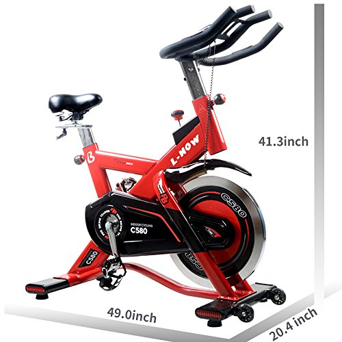 L NOW Indoor Cycling Bike Exercise Bike...