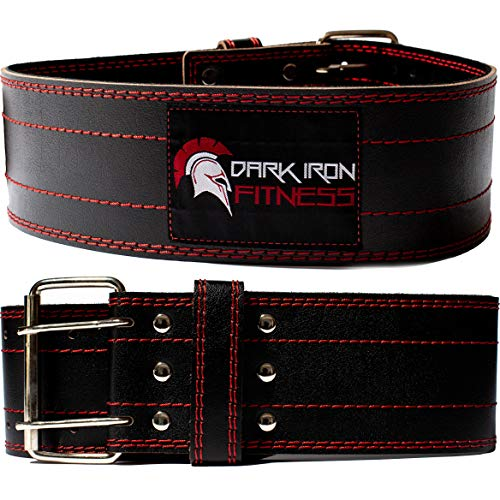 Dark Iron Fitness Genuine Leather Pro Weight...