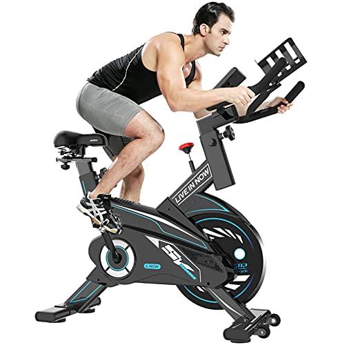 pooboo Exercise Bike, Indoor Cycling Bike...