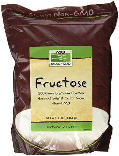 NOW Natural Foods, Fructose, Pure Crystalline...