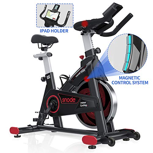 SNODE Indoor Cycling Bike - Magnetic...