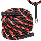 Battle Ropes with Anchor Kit and Nylon...