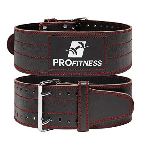 ProFitness Genuine Leather Workout Belt...