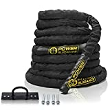 POWER GUIDANCE Battle Rope, 1.5' Width Poly...