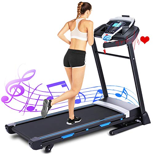 ANCHEER Treadmills for Home, 3.25HP Folding...