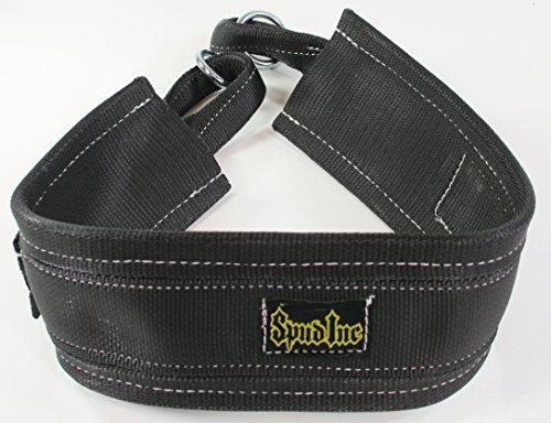 Spud Black Belt Squat Large Belt for Weight...