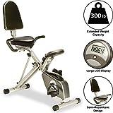 Exerpeutic 400XL Folding Recumbent Bike with...