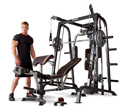 Marcy Pro Smith Cage Workout Machine Total...