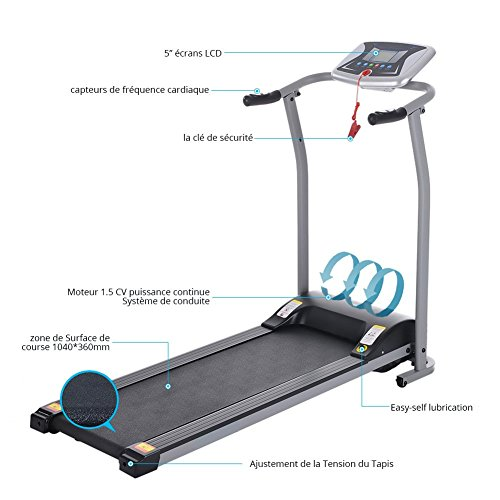 Miageek Fitness Folding Electric Support...