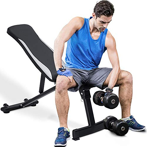 Merax Classic Foldable Utility Weight Bench...