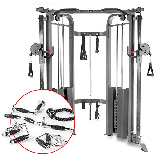 XMark Functional Trainer Cable Machine with...