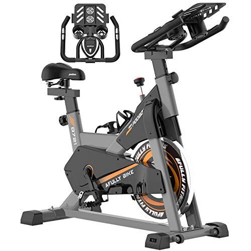 pooboo Exercise Bike, Belt Drive Indoor...
