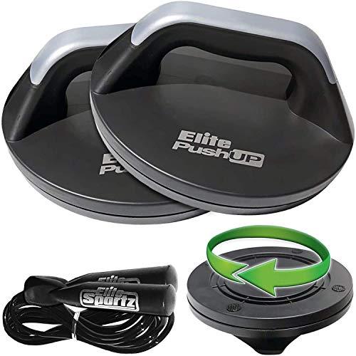 Elite Sportz Push Up Bars - The Smooth...