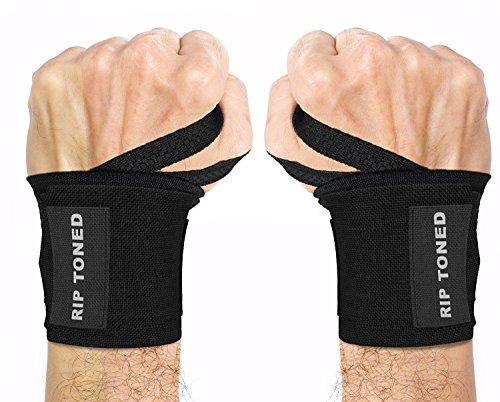 Rip Toned Wrist Wraps - 18' Professional...