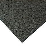 Rubber Cal Treadmill Mat, Black, 3/16-Inch x...