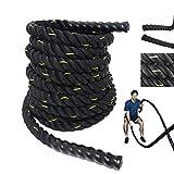Grande Juguete Battle Rope - 1.5'/2' Width...