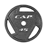 CAP Barbell 2-Inch Olympic Grip Plate,...