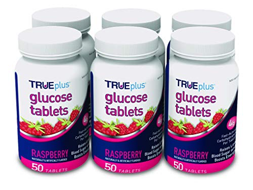 TRUEplus® Glucose Tablets, Raspberry Flavor...