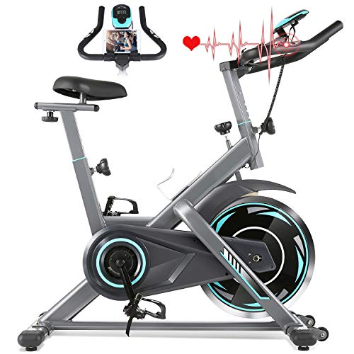 FUNMILY Indoor Exercise Bike Stationary,...