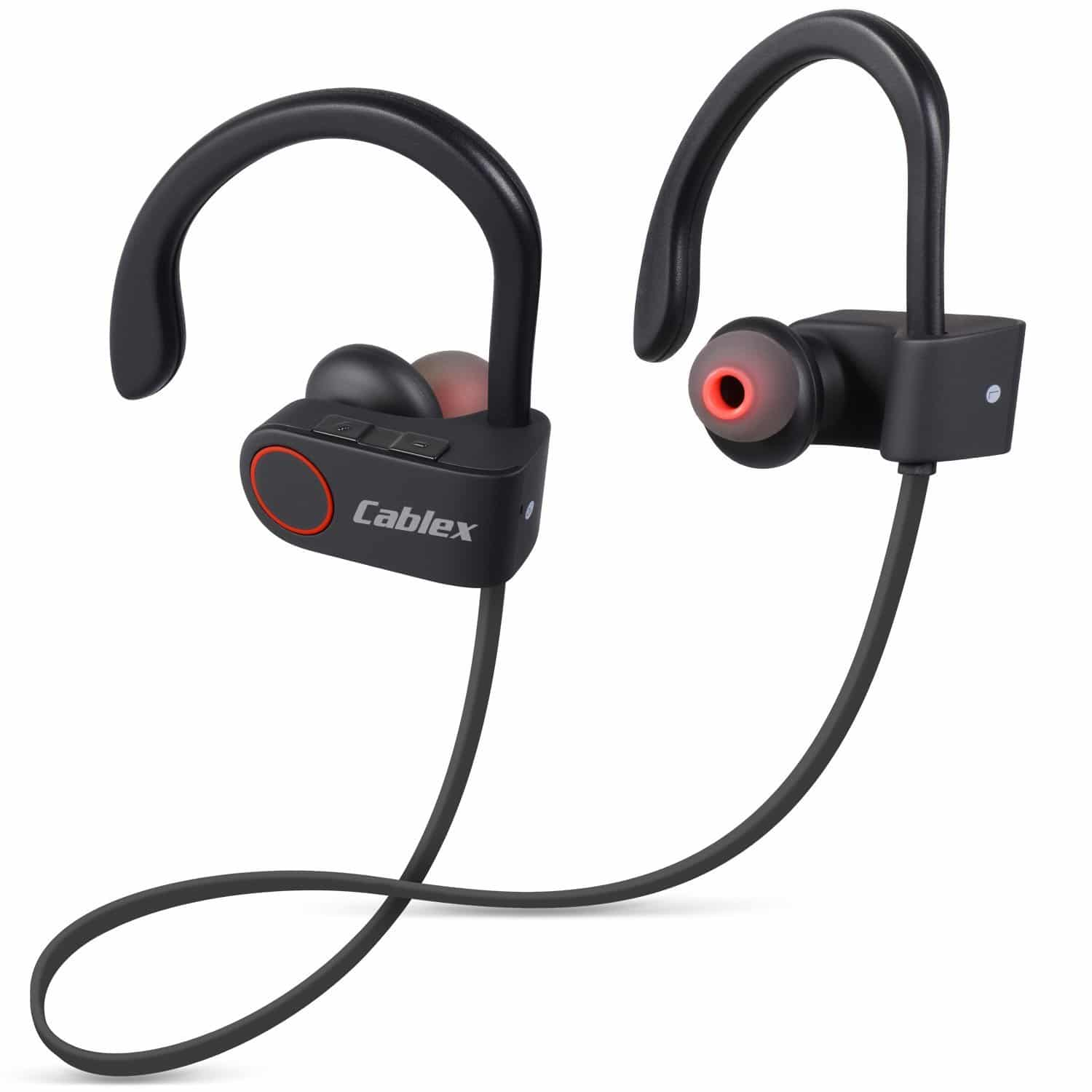 Over ear earbuds - headphones over ear cable