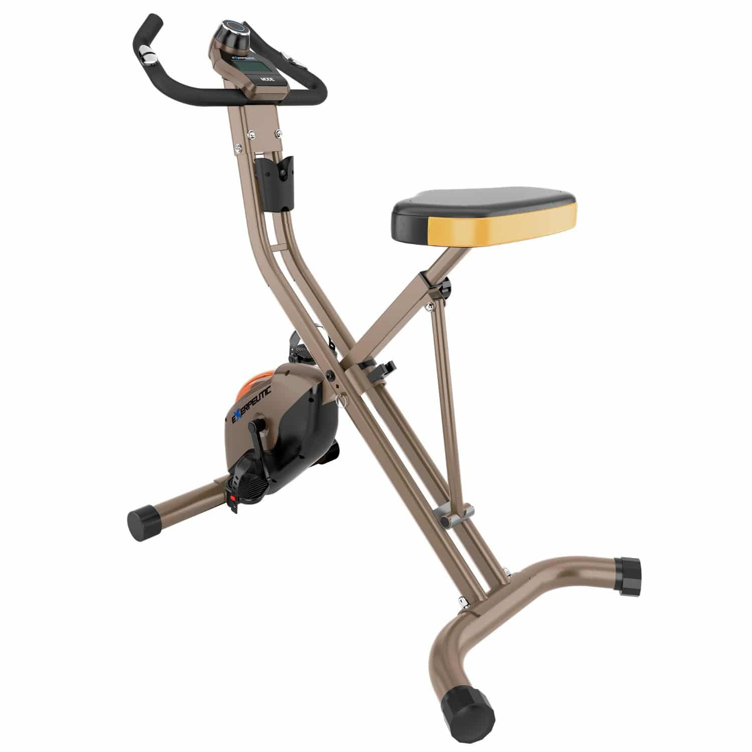 Exerpeutic folding magnetic upright bike xls reviewed