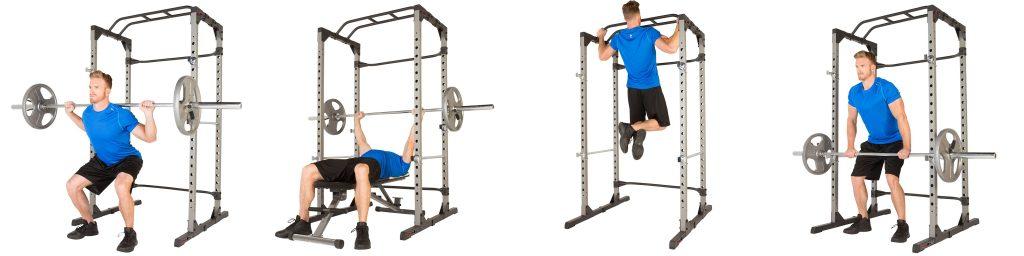 Fitness Reality 810XLT Exercises