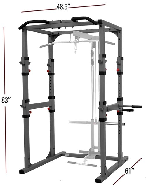 XMark-Fitness-XM-7620-Power-Cage-Dimensions