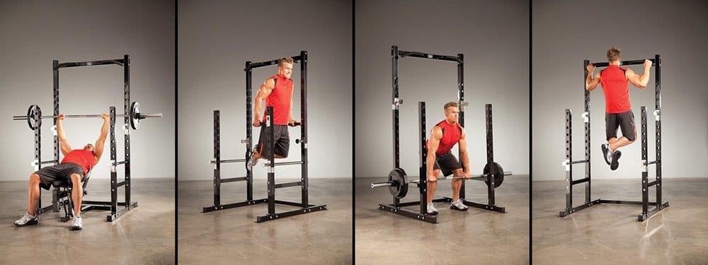 Impex Marcy Power Rack All Exercies