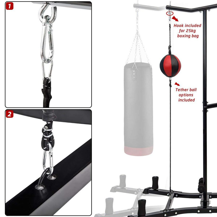 Merax Boxing Power Tower Specs1