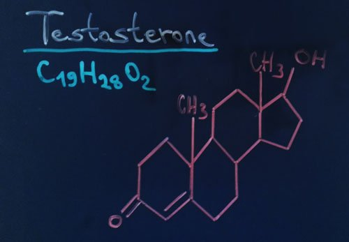 Testosterone Chemical Formula