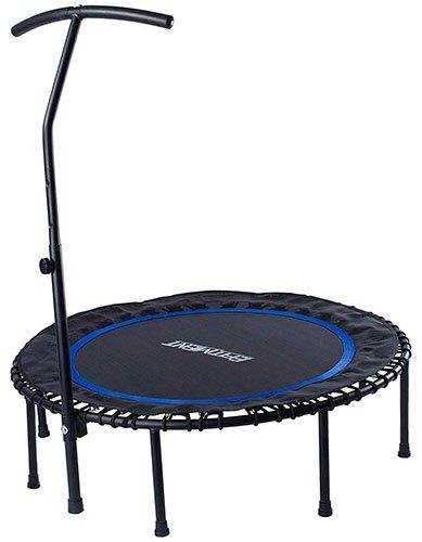 EFITMENT 45-inch Fitness Trampoline Rebounder