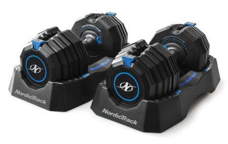 NordicTrack 55lb Pair Speed Weights