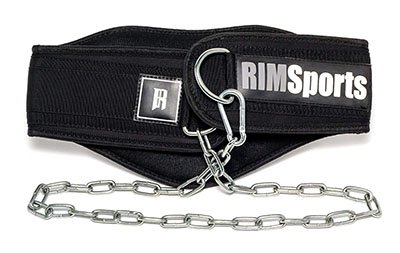 RIMSports Premium Lifting Belt With Chain