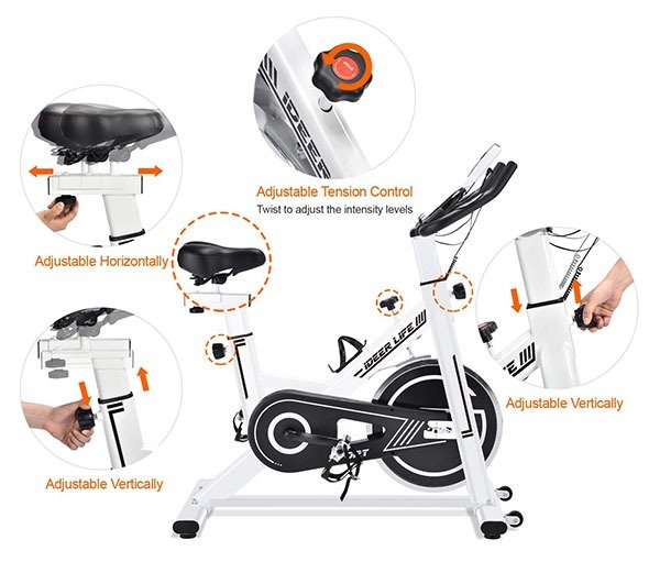 IDEER LIFE Exercise Bike Specs